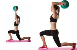 Med-Ball-Lunge-with-Tricep